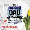 personalized this amazing dad belongs to kids name happy fathers day 2021 svg gifts for dad from son daughter