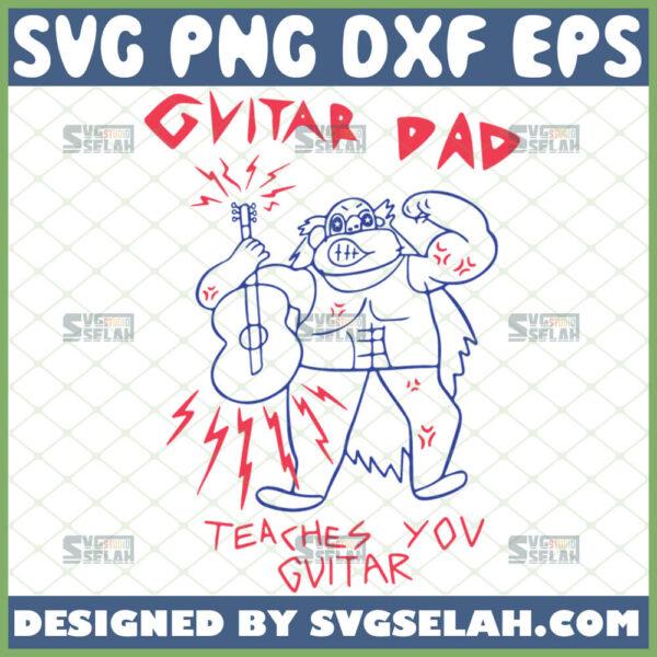 steven universe guitar dad svg teaches you guitar svg cartoon network svg