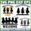 yellowstone cowboy horse svg ride for the beand