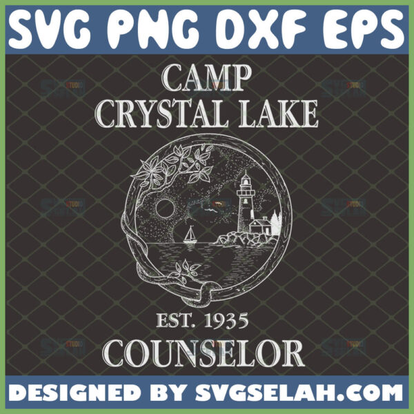 camp crystal lake counselor svg jason voorhees friday the 13th camp no be bo sco inspired