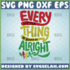every little thing is gonna be alright svg three little birds bob marley svg
