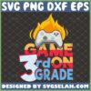 game on 3rd grade svg third grade teacher shirt svg game controller school gifts