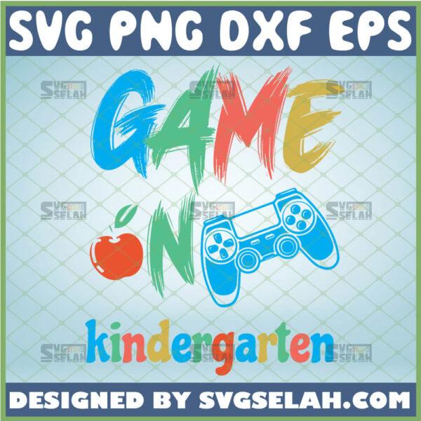 game on kindergarten svg apple game controller svg