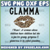 glamma svg noun definition leopard lips glamorous grandma gifts