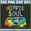 hippie soul tie dye van svg