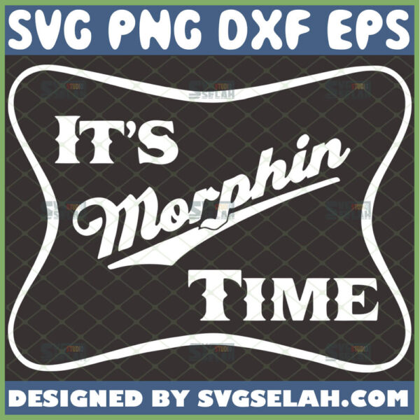 its morphin time svg mighty morphin power rangers inspired