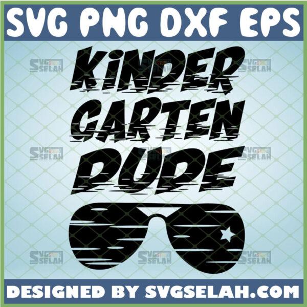 kindergarten dude svg eyewear kindergarten shirt svg