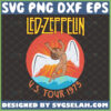 led zeppelin svg us tour 1975 rock band svg stairway to heaven inspired