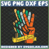 peace and love svg sign language svg