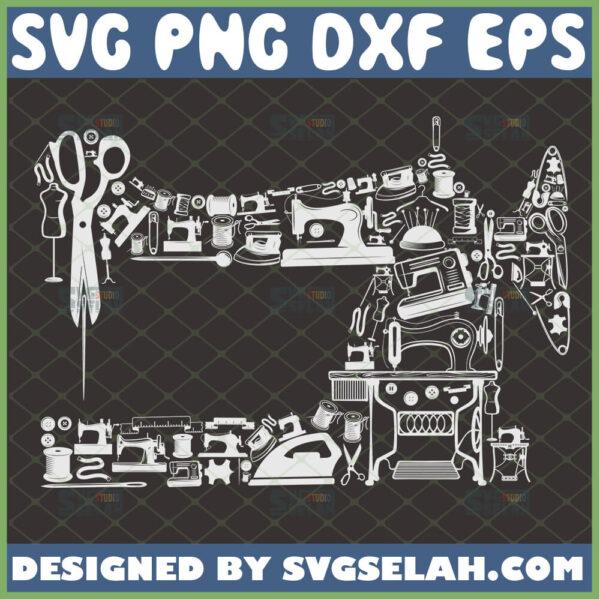sewing machine svg