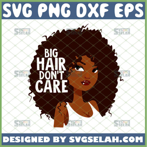 big hair dont care svg hippy slogan inspired
