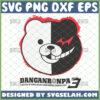 monokuma svg danganronpa v3 the end of hopes peak high school game shirt ideas