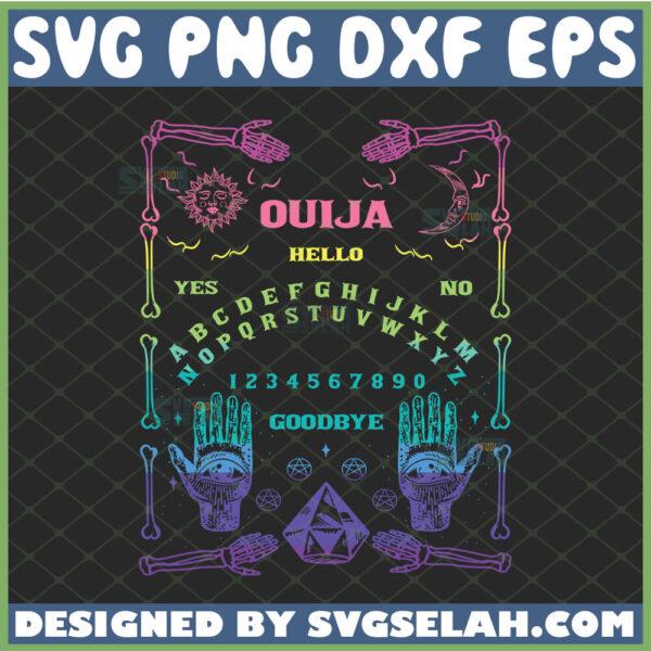 ouija hello goth witchcraft svg