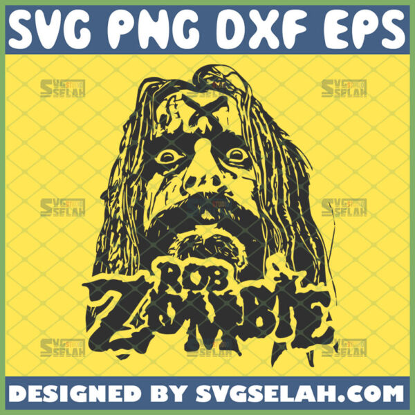 rob zombie svg white zombie rock band inspired