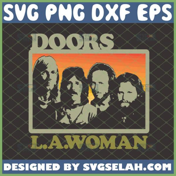 the doors la woman svg rock band shirt ideas