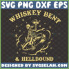 whiskey bent and hell bound svg
