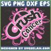 crush cancer svg