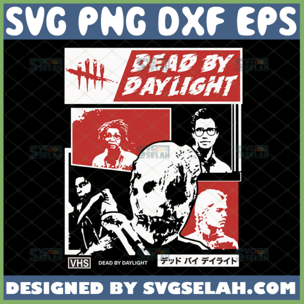 dead by daylight svg survival horror game shirt ideas