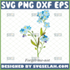 forget me not flower svg