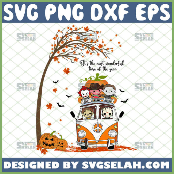 its the most wonderful time of the year halloween svg