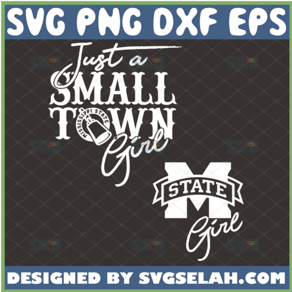 just a small town girl svg