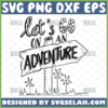 lets go on an adventure svg inspirational sign camp ideas