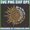 live by the sun love by the moon svg mandala version