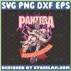 pantera cowboys from hell svg