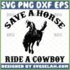 save a horse ride a cowboy svg