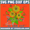 she believed she could so she did sunflower svg