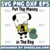 spongebob put the money in the bag svg