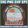 take the road less traveled svg