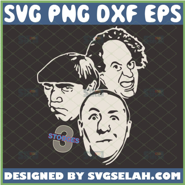 the three stooges svg