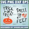 trick or treat smell my feet svg diy halloween baby socks ideas