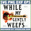 while my guitar gently weeps svg