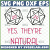 yes theyre natural d20 svg