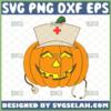 nurse pumpkin svg