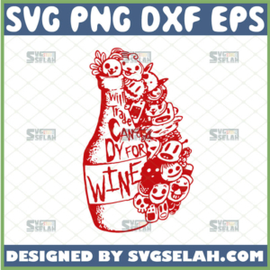 will trade candy for wine svg halloween gifts